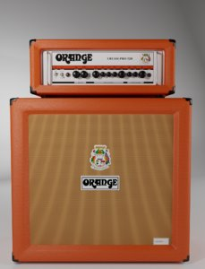 3D orange crush pro120 model