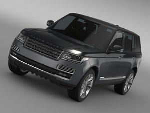 3D range rover svautobiogra