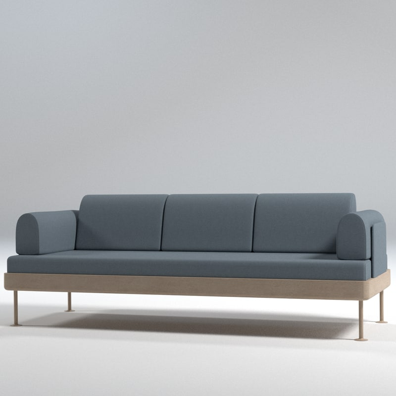 3d Sofa Ikea 3 Seat Turbosquid 1250651