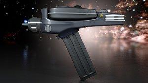 phaser pistol model