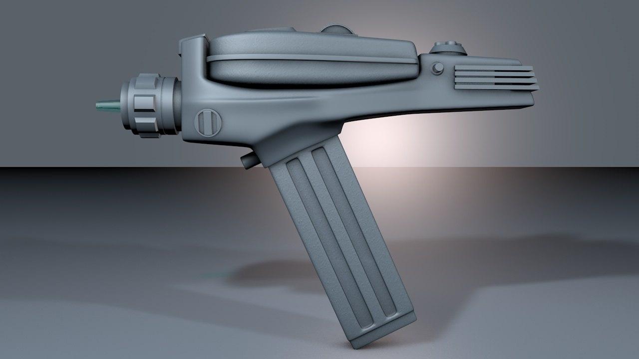 Phaser Pistol