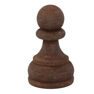 chess pawn 3D model