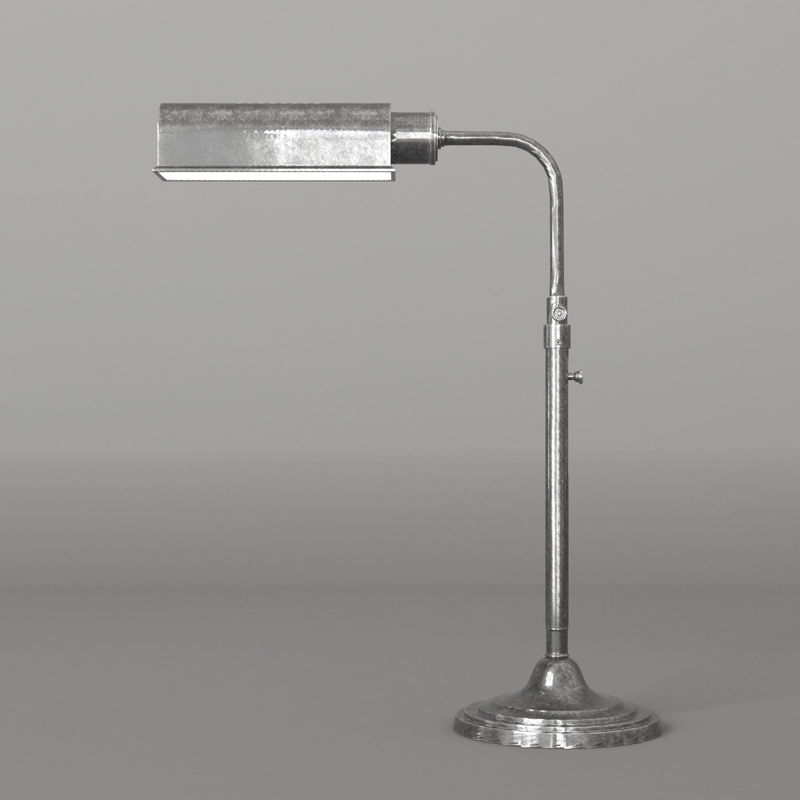 brooklyn desk lamp 3D model