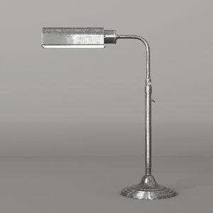 brooklyn desk lamp 3D model