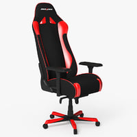 gaming chair dxracer 3D model