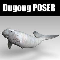 poser dugong model