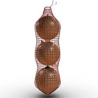 onions net 3D model
