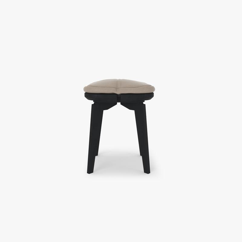 stool-quarter 3D model