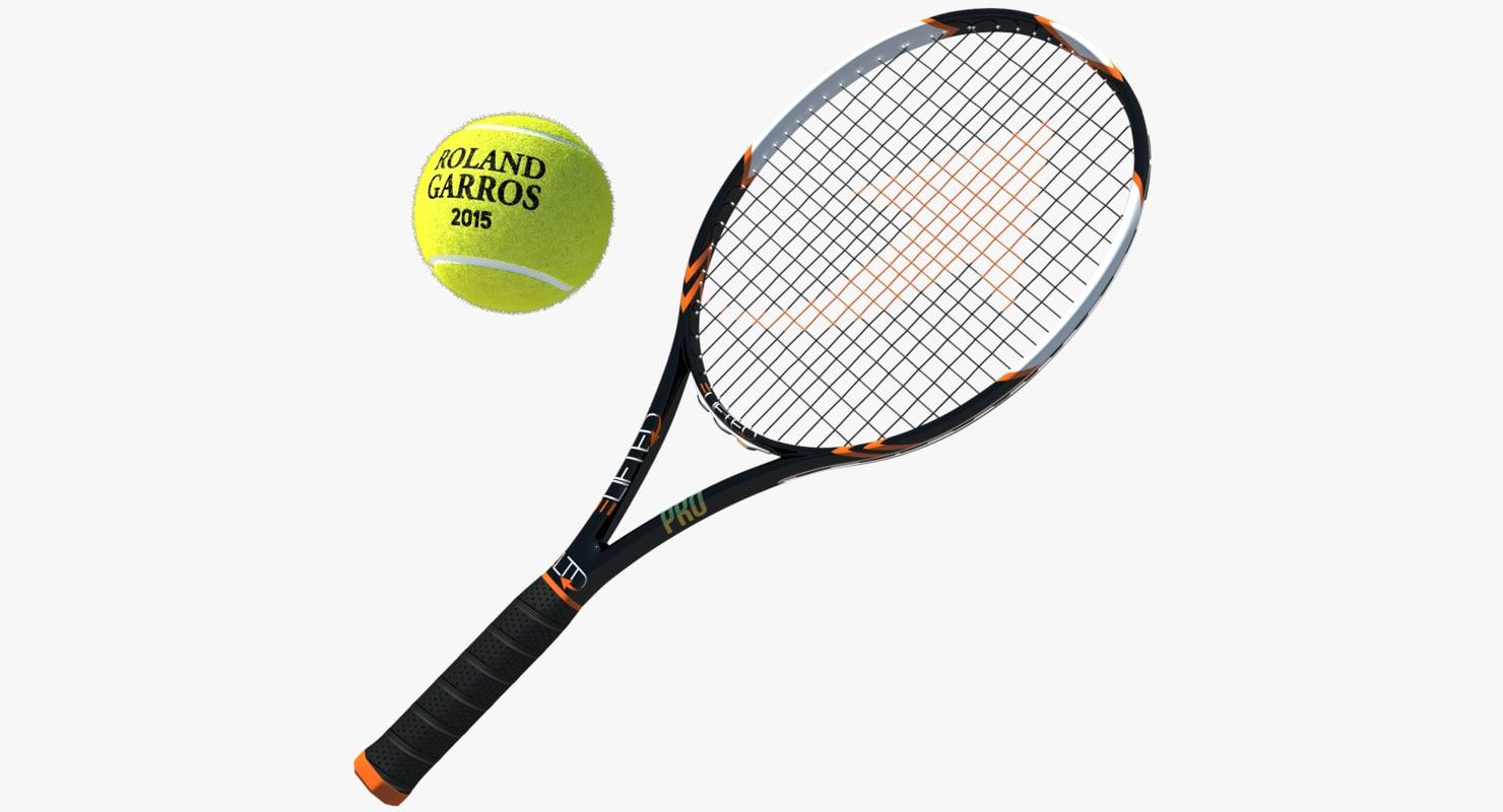 tennis ball t 3D model