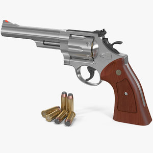 smith wesson 29 6 3D