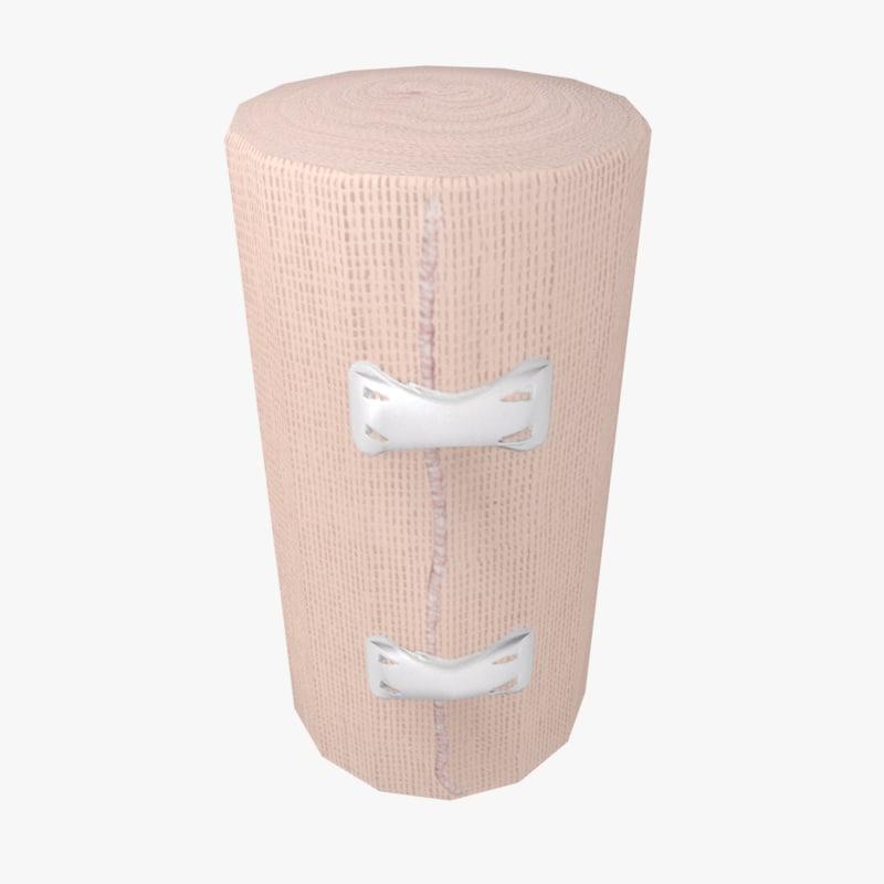 bandage clips beige model