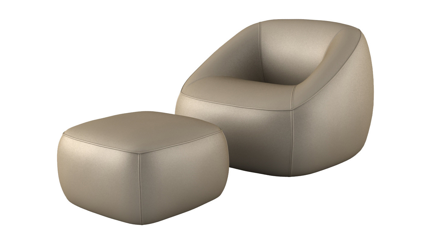 3D lounge chair swamp