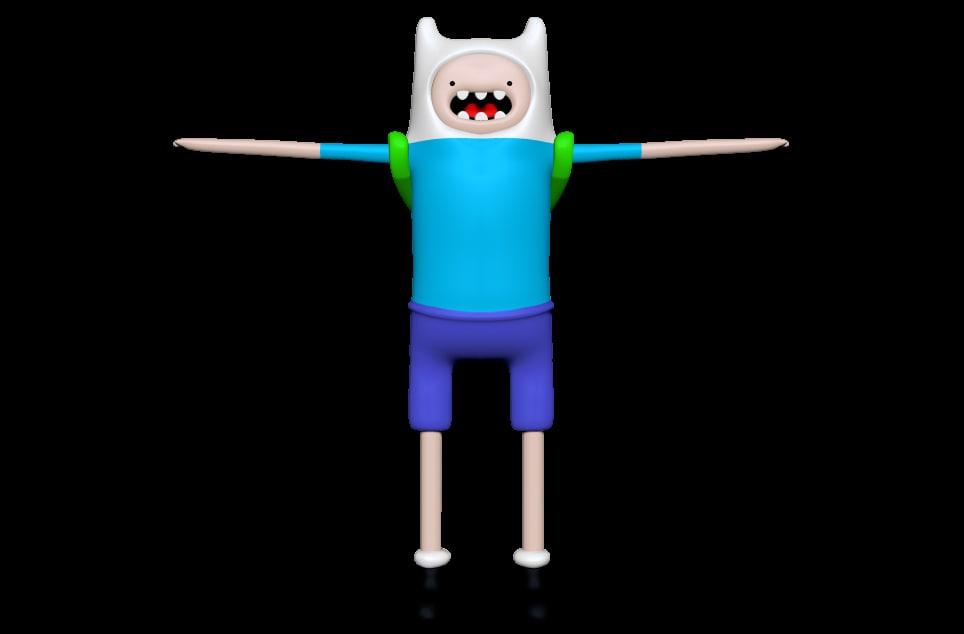 3D finn model