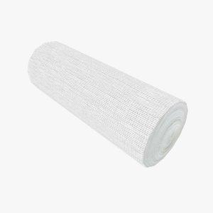 bandage roll gauze 3D model