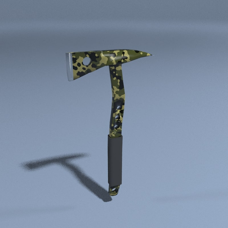 3D axe tool weapon