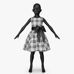 dress bow 3D model