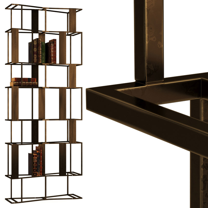 3D model baxter rafiki bookcase