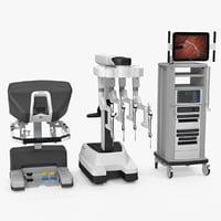3D da vinci surgical model