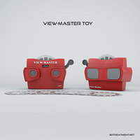 3D model viewmaster toy