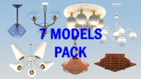 chandelier pack 7 models