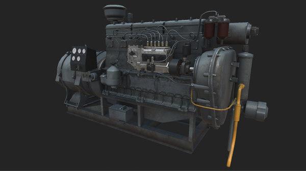 Generator 3D Models for Download | TurboSquid