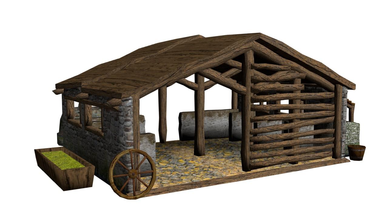 medieval stable model