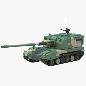 3D chinese plz 05 self propelled