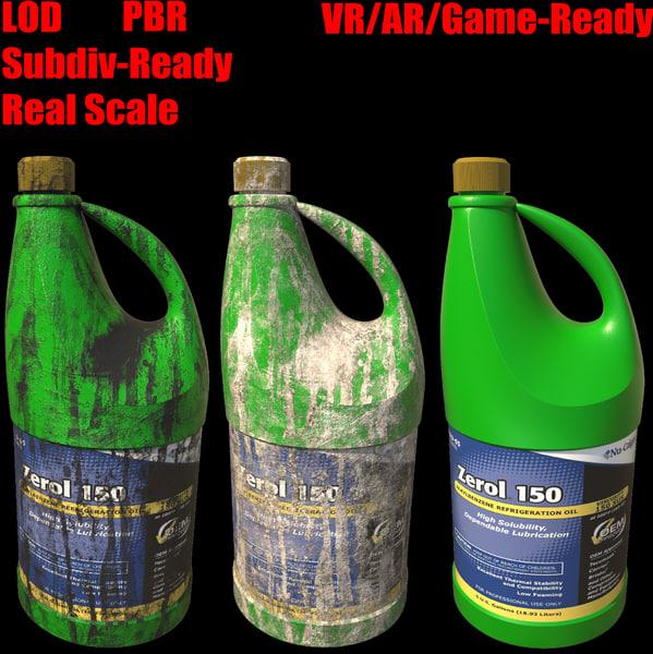 max plastic gallon