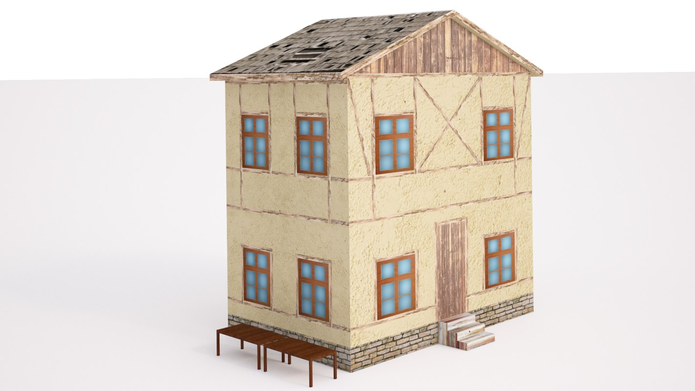 build ready 3D model