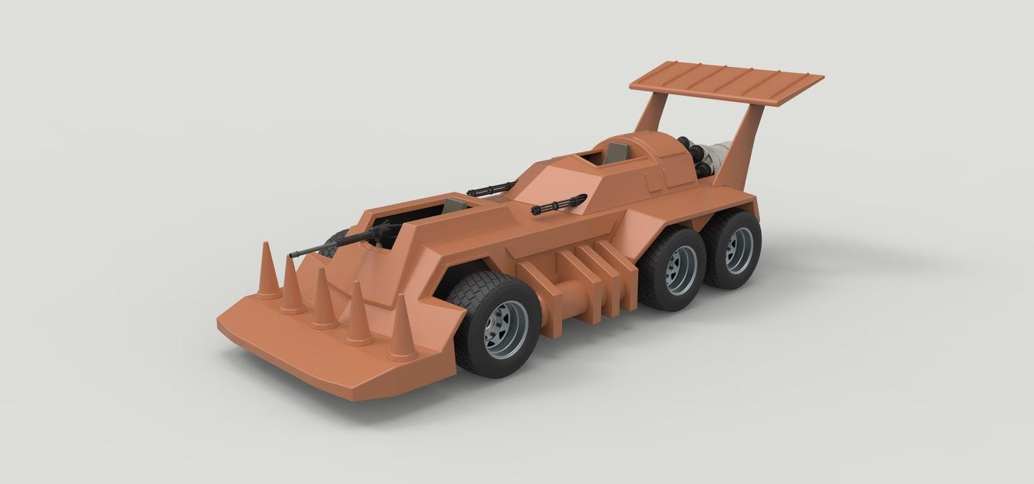 3D model vehicle eliminator