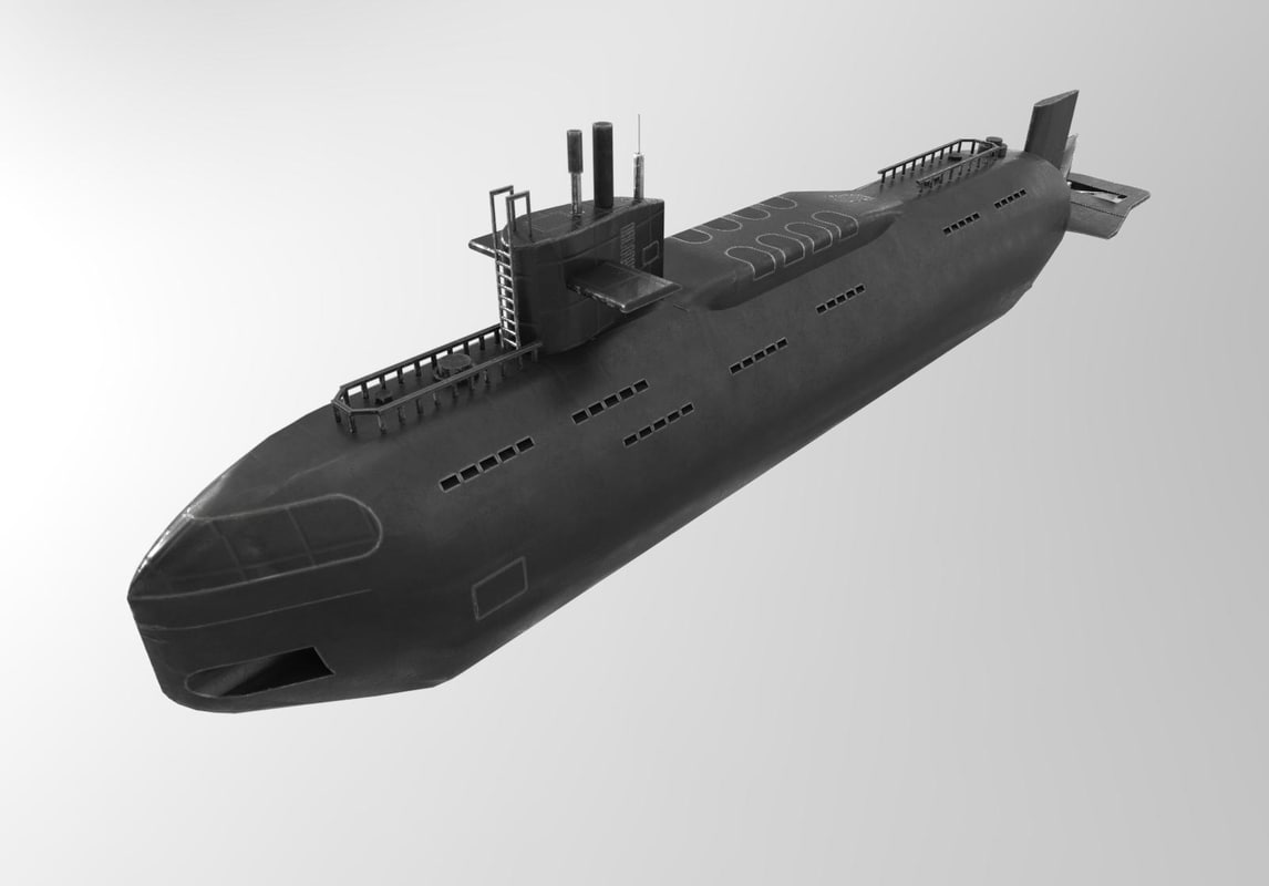dxf russian nuclear submarine