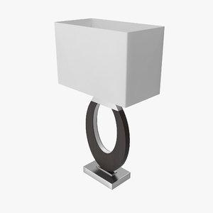 nova lighting table lamp 3D