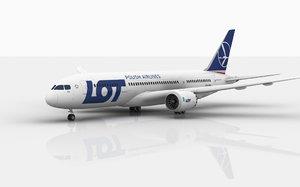 boeing 787 dreamliner lot 3D model