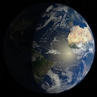 32k Planet Earth - Day & Night