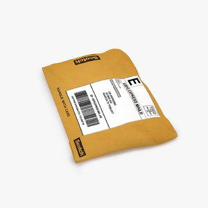 3D parcel 007