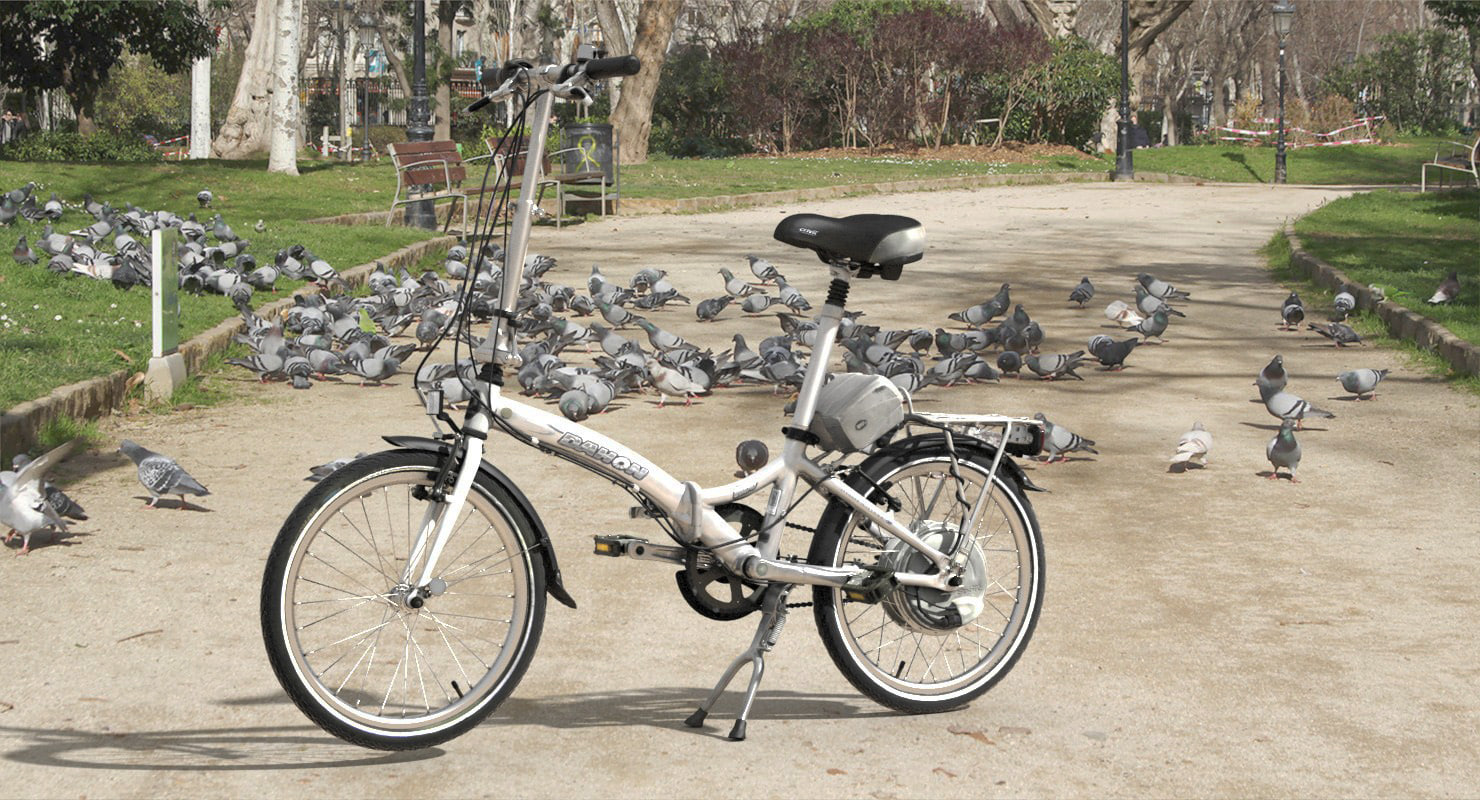 3D model bike dahon