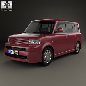 3D scion xb 2003
