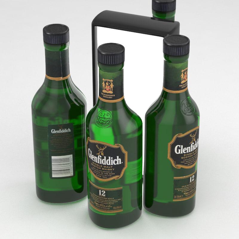 whisky scotch 3D model