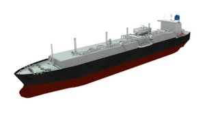 3D lng carrier technigaz gtt