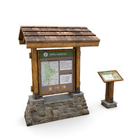 information boards model