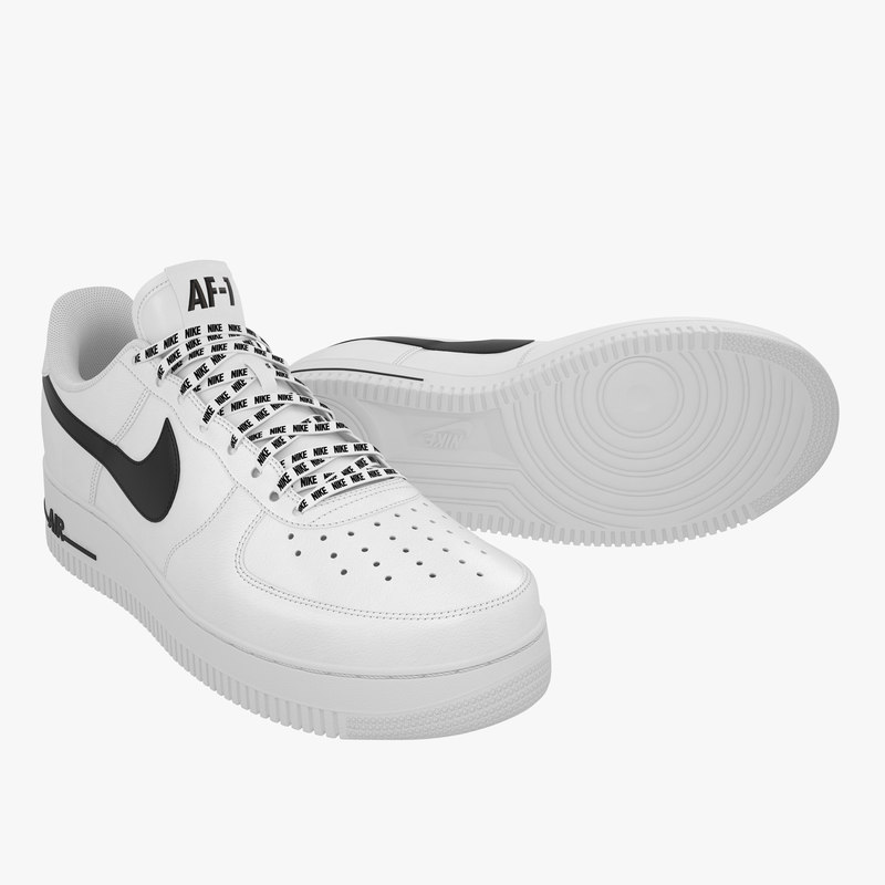 finest selection d6ac9 c64e3 nike air force 1 3D model