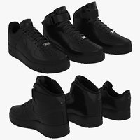 Nike Air Force 1 Set (Black)