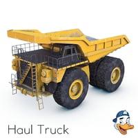 3D haul truck model