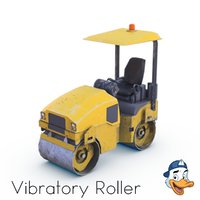 3D vibratory roller
