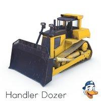 3D handler dozer