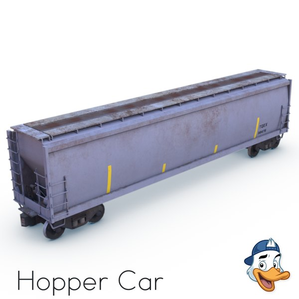 hopper car model