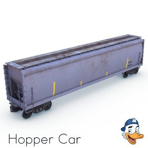 hopper car model