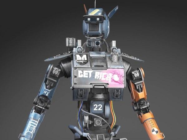 chappie robot 3D model