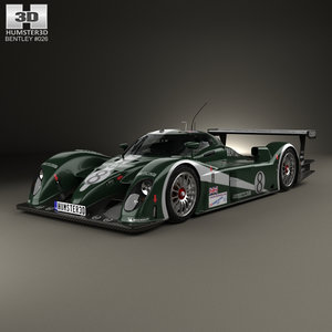 3D bentley speed 8