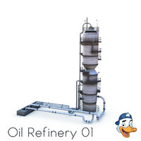 Oil Refinery 01